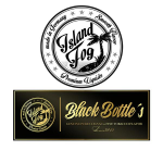 Island Fog Liquids - Black Bottle´s
