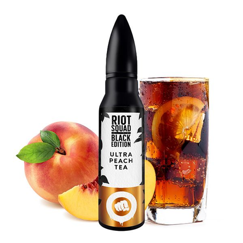 Riot Squad - Ultra Peach Tea Black Edition Aroma 15ml