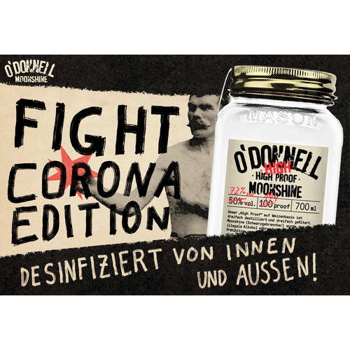O´Donnell Moonshine - High High Proof 700ml (72%) - Fight...