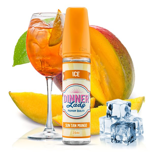 Dinner Lady -  Ice - Sun Tan Mango Aroma 20ml