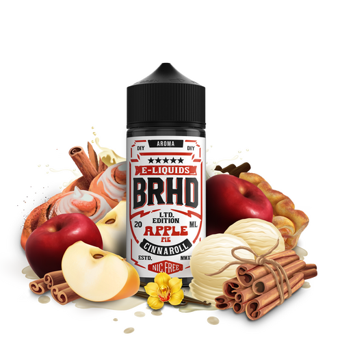Barehead - BRHD - Apple Pie Cinnaroll 20ml Aroma